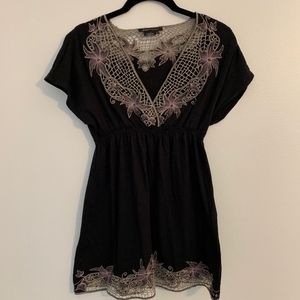BCBG Maxazria Beautiful Lace Top